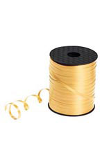 "Gold Curling Ribbon - 3/16""W - Case of 3"