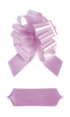 "Pink Pull Bows - 8""W - Case of 50"
