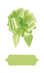 "Lime Pull Bows - 8""- Case of 50"