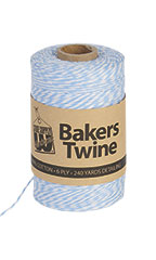 Bakers Twine - Blue & White - Case of 2