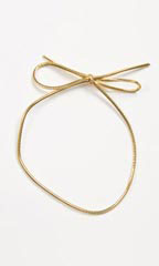"8"" Shiny Gold Elastic Stretch Loops - Case of 250"