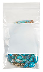"5"" x 8"" Resealable Clear Plastic Bags - Case of 500"