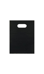 Small Low Density Black Merchandise Bags - Case of 1,000
