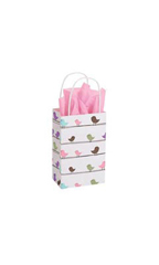 Small Little Birdies Paper Bags - Case of 100