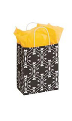Medium Charming Halo Paper Shopping Bags - Case of 25