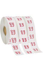 Self-Adhesive Discount Label Kit