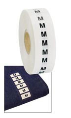 Wrap Around Clothing Size Labels - Size M
