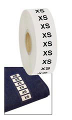 Wrap Around Clothing Size Labels   -Size XS