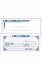 Gift Certificates & Envelopes Kit
