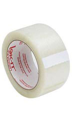 2 inch Clear Packing Tape - Case of 5