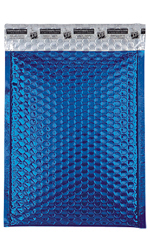 Medium Blue Glamour Bubble Mailers