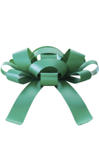 30 inch Green Magnetic Car Bow