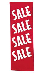 Vertical Sale Banner
