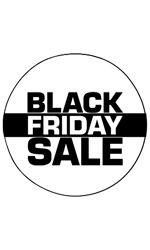 Circle Black Friday Sale - Sign Cards