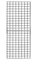 2 x 6 Black Collapsible Wire Grid Panels