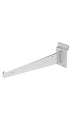 10 inch Chrome Shelf Bracket for Slatwall