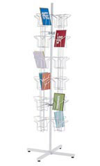 48-Pocket Rotating Greeting Card Rack