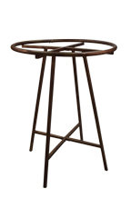 Boutique Cobblestone Collapsible Round Clothing Rack