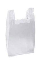 Medium Clear Plastic T-Shirt Bags - Case of 1,000