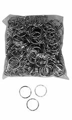 Silver Split Metal Key Rings