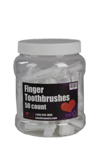 Love Groomers Finger Toothbrushes